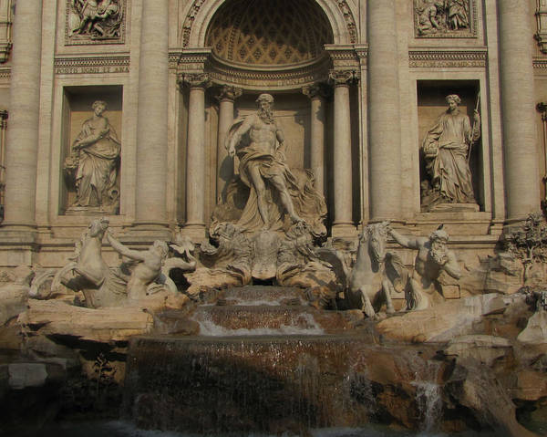 Trevi Fountain Digital Art - The Most Famous by Barbara Chachibaya