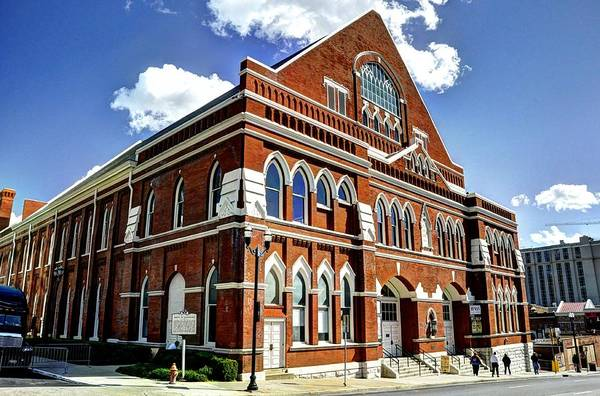 Ryman Auditorium Photograph - The Mother Church by Jean Hutchison