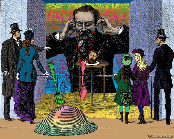 Digital Art - The Moveable Feast by Eric Edelman