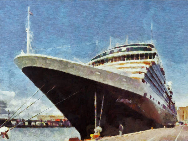 Digital Art - The Ms Eurodam by Digital Photographic Arts