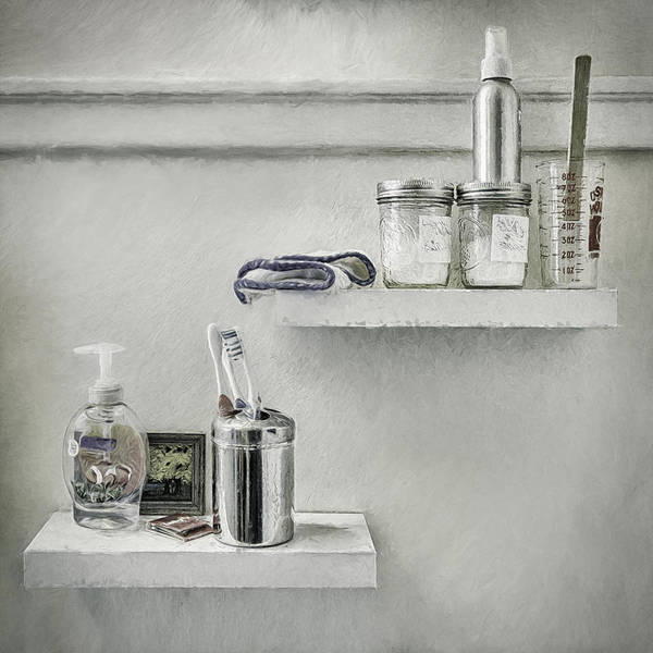 Shelves Photograph - The Mundane by Scott Norris
