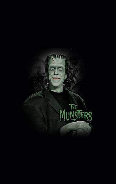 Shows Digital Art - The Munsters - Man Of The House by Brand A