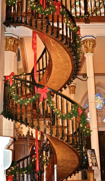 Loretto Chapel Photograph - The Mysterious Miracle Staircase by Kristina Deane