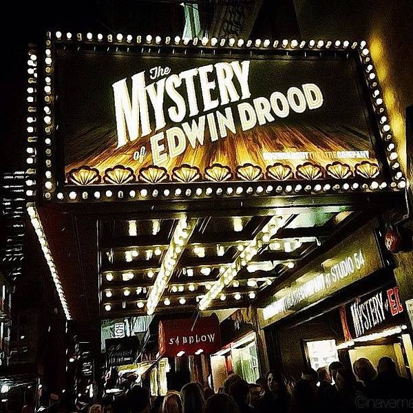 Wall Art - Photograph - the Mystery Of Edwin Drood Opening by Natasha Marco