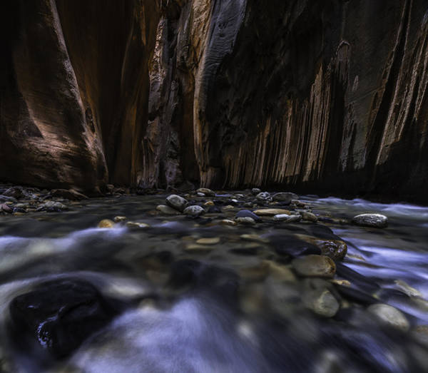 National Parks Photograph - The Narrows At Zion National Park - 2 by Larry Marshall