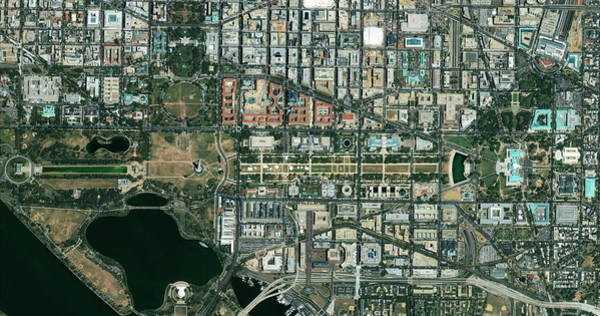 National Mall Wall Art - Photograph - The National Mall by Geoeye/science Photo Library