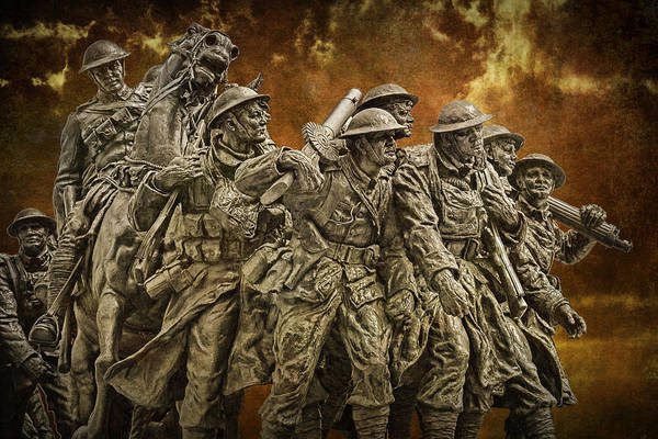 Photograph - The National War Memorial In Ottawa Ontario by Randall Nyhof