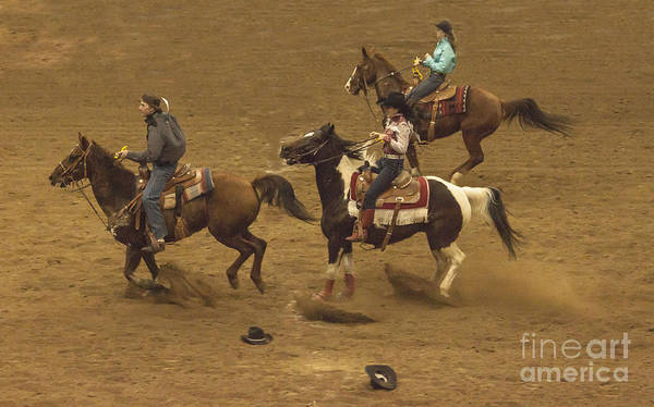 Prca Wall Art - Photograph - The National Western Stock Show Barrel Races by Janice Pariza
