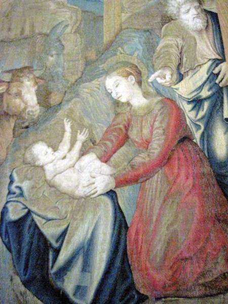 Wall Art - Photograph - The Nativity Photograph Gallery Of Tapestries Vatican Museum by Patricia E Sundik