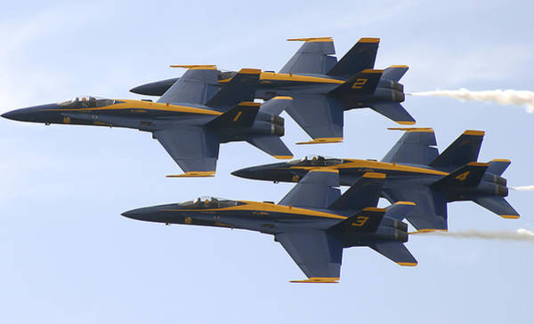 Photograph - The Navy Blue Angels by Ricky L Jones