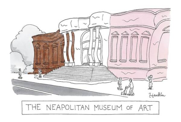 Tub Wall Art - Drawing - The Neapolitan Museum Of Art by Charlie Hankin