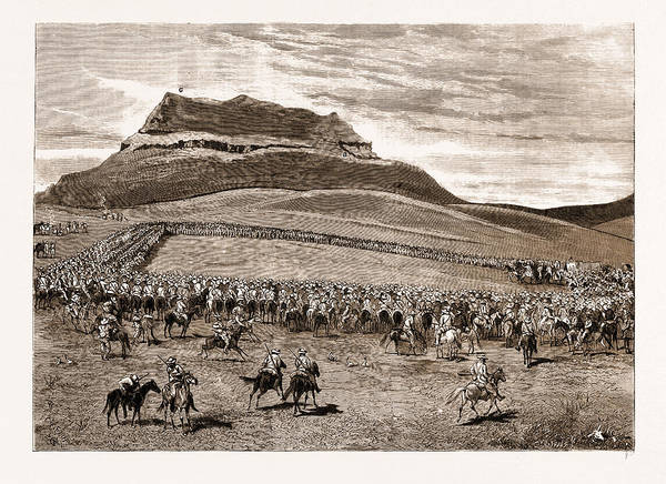 Feb Wall Art - Drawing - The Negotiations In The Transvaal, South Africa by Litz Collection