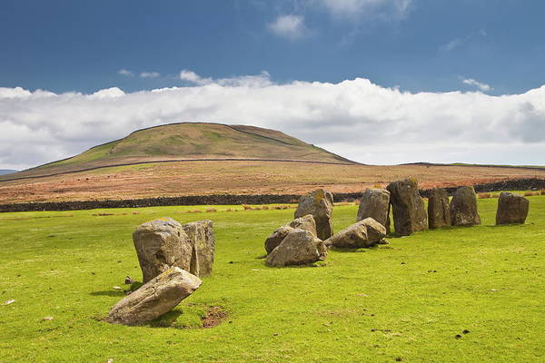 Prehistoric Era Wall Art - Photograph - The Neolithic Swinside Stone Circle by Julian Elliott / Robertharding