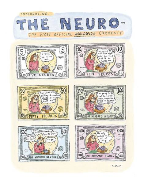 Officials Drawing - The Neuro  -   The First Official Worldwide by Roz Chast