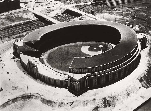 1931 Photograph - The New Cleveland Stadium by Underwood Archives