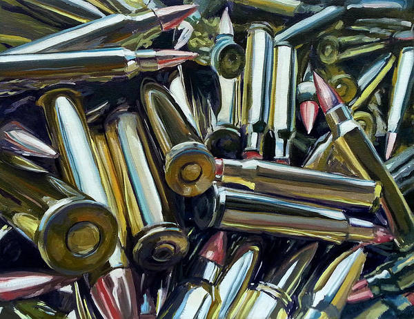 Ar 15 Painting - The New Gold Rush by Lisa Frick