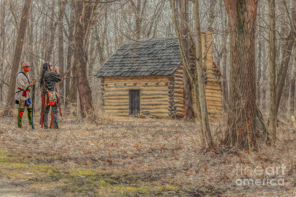 Musket Digital Art - The New Neighbors by Randy Steele