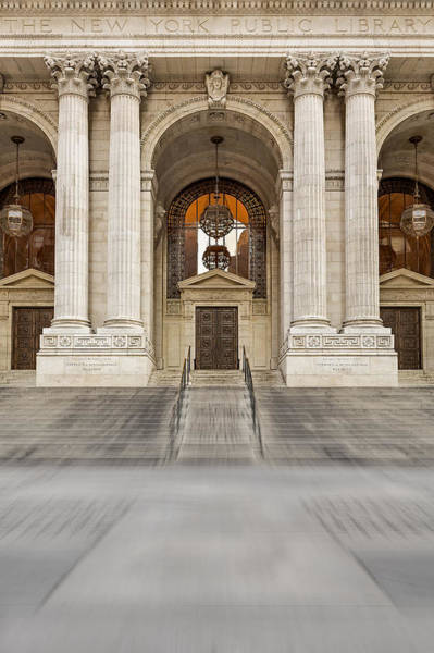 Photograph - The New York Public Library by Susan Candelario