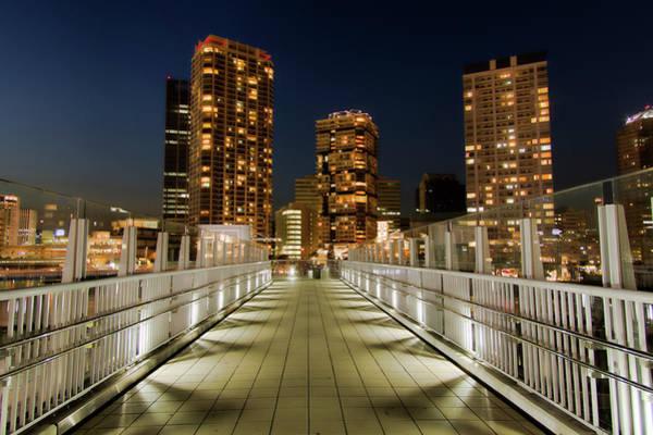 Kanagawa Wall Art - Photograph - The Night View At Yokohama Portside by Motodan