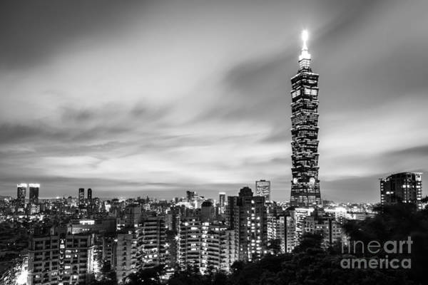 Photograph - The Nights Of Taipei by Didier Marti