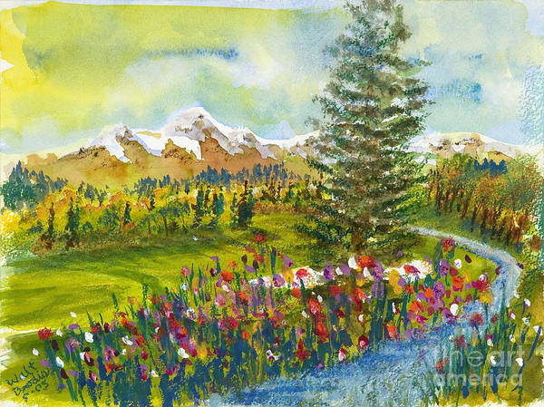 Painting - The Ninth Hole by Walt Brodis