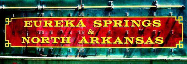 Eureka Springs Photograph - The North Arkansas Line by Benjamin Yeager