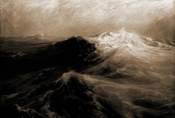 Atlantic Ocean Drawing - The North Atlantic, Woodbury by Litz Collection