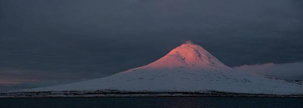 Active Volcano Photograph - The Northeast Flank Of Mt Augustine by HagePhoto