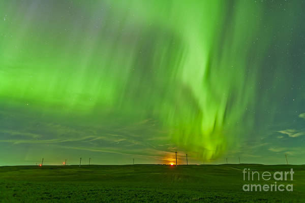 Strange Land Wall Art - Photograph - The Northern Lights As Seen by Alan Dyer