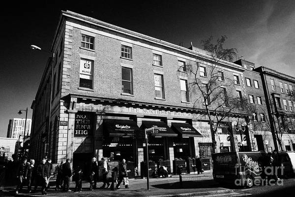 Whig Photograph - the northern whig house and pub Belfast Northern Ireland uk by Joe Fox
