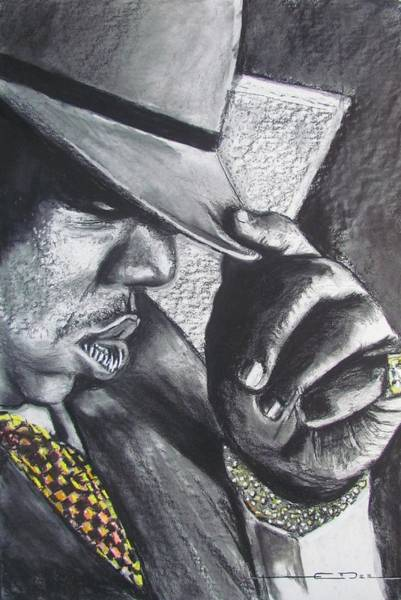 Drawing - The Notorious B.i.g.  by Eric Dee