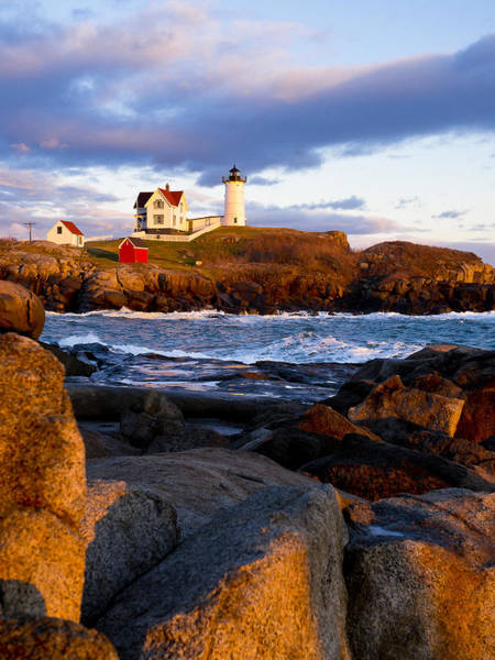 The Nubble Lighthouse Art Print