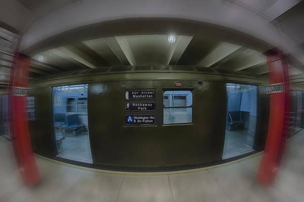 Rockaway Photograph - The Nyc Subway A Train by Susan Candelario