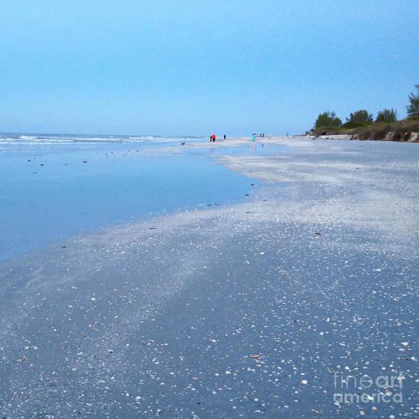Photograph - The Ocean Blue by Chris Scroggins