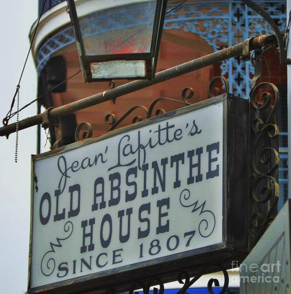 Wall Art - Photograph - The Old Absinthe House New Orleans by Marcus Dagan