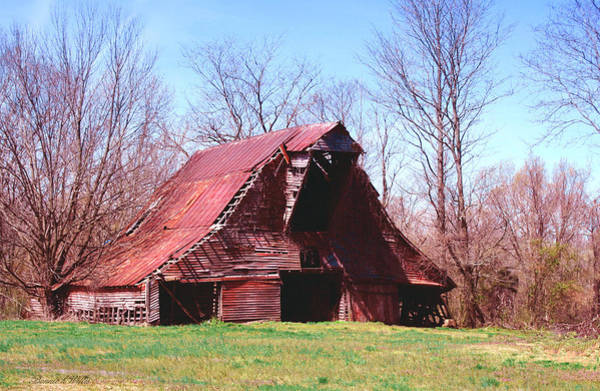 Photograph - The Old Barn by Bonnie Willis