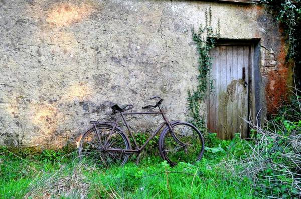 Photograph - The Old Bike In The Irish Countryside by Bill Cannon