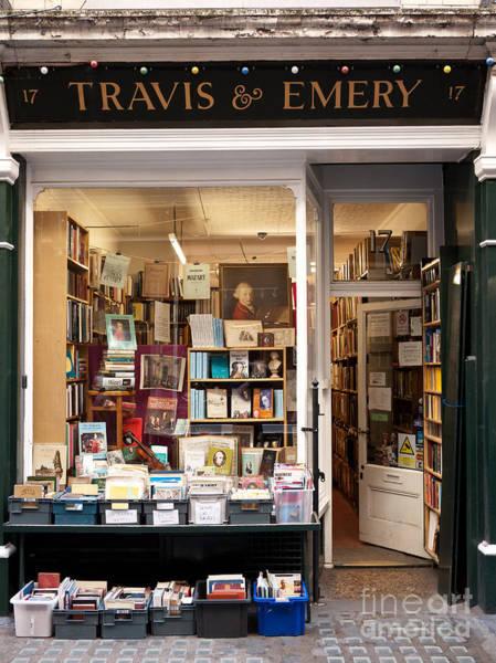 The Old Bookshop Art Print