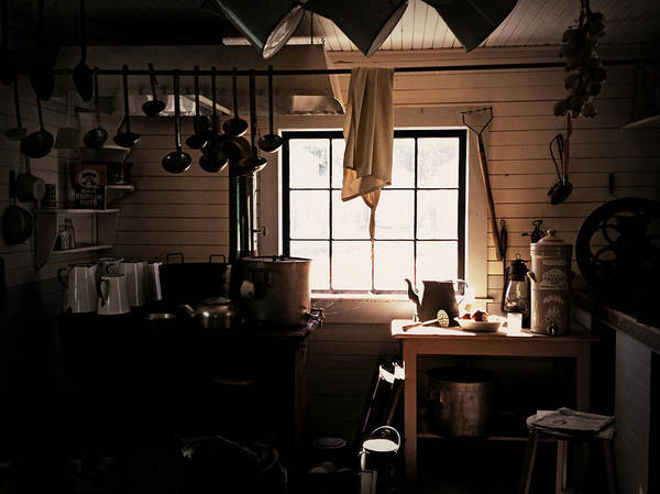 Photograph - The Old Camp Kitchen by Micki Findlay