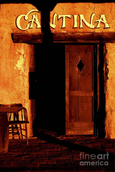 Cantina Photograph - The Old Cantina by Paul W Faust -  Impressions of Light