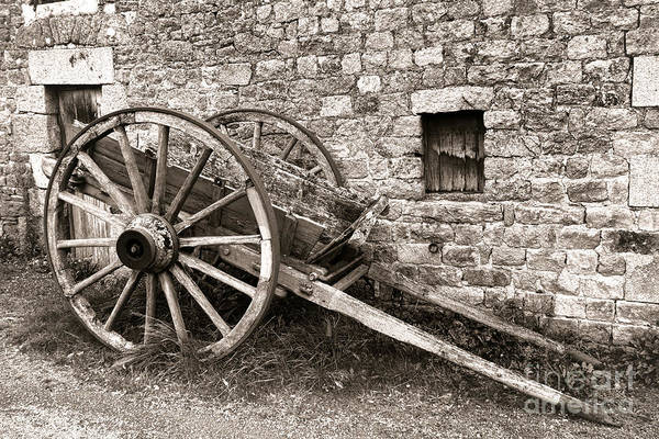 Wall Art - Photograph - The Old Cart by Olivier Le Queinec