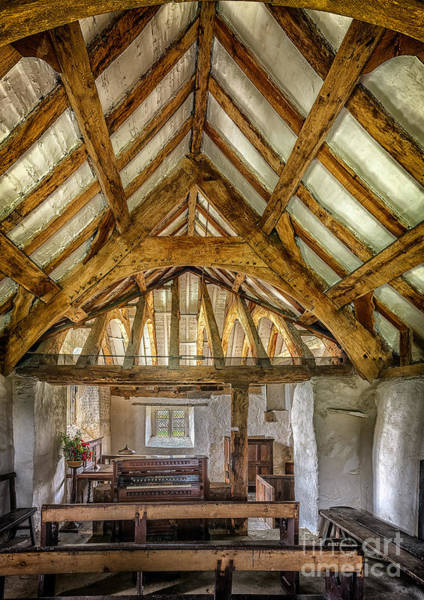 Banister Wall Art - Photograph - The Old Church by Adrian Evans