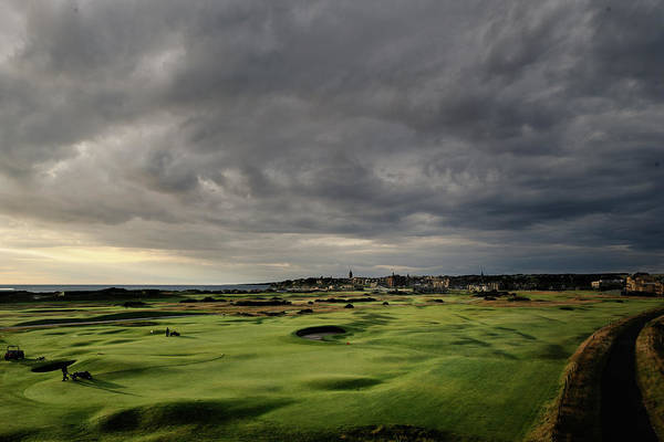 St Andrews Photograph - The Old Course by Dom Furore