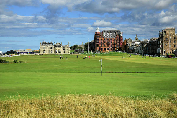 Golf Course Photograph - The Old Course St Andrews by David Cannon