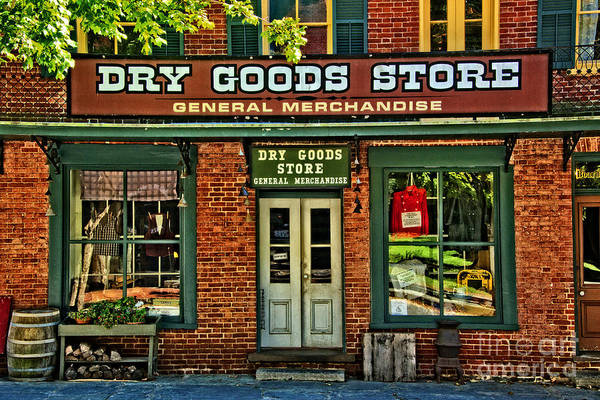 Wall Art - Photograph - The Old Dry Goods by Paul W Faust -  Impressions of Light
