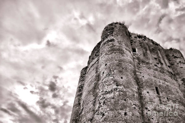 Fortified Wall Art - Photograph - The Old Dungeon by Olivier Le Queinec