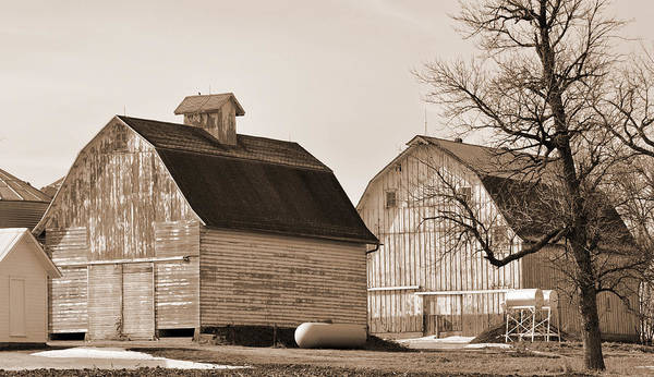 Photograph - The Old Farm by Kirt Tisdale