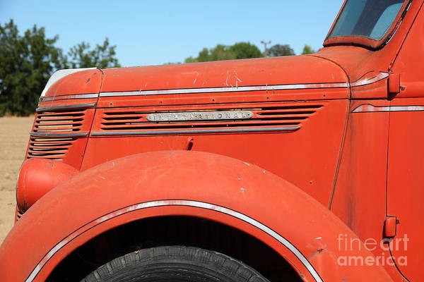 Photograph - The Old Farm Truck 5d23973 by Wingsdomain Art and Photography