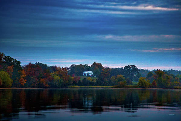 Blythe Photograph - The Old Ferry House by Steven Llorca