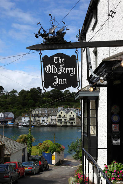 Photograph - The Old Ferry Inn Boddinick by James Brunker